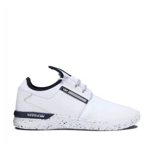 Кеды Supra Flow Run (white/navy/white)